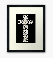 Daisy Cross Framed Print