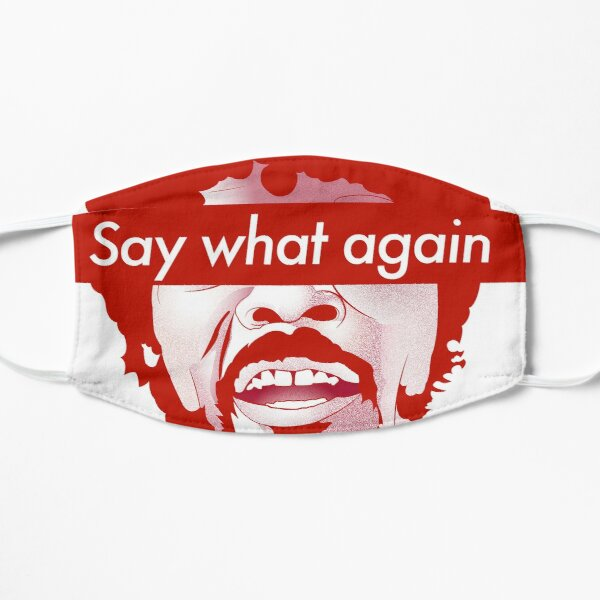 Say What Again - Pulp Fiction Flat Mask