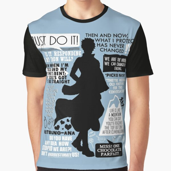 Gintama - Sakata Gintoki Quotes Graphic T-Shirt