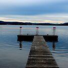 Fishing jetty  by Jessica Lauren Smith