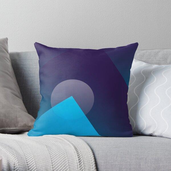 lueur bleue Coussin