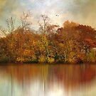 Autumn on a Pond by Jessica Jenney