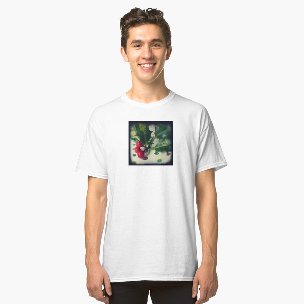 Holly berries Classic T-Shirt Front