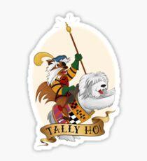 Tally Ho! Sticker