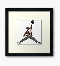 Prince Ball'n Framed Print