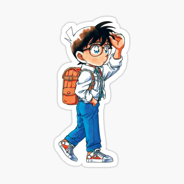 Détective Conan Edogawa Sticker