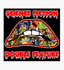 Science Fiction / Double Feature (LIPS! LIPS!! LIPS!!!) Photographic Print