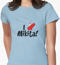 I ship: MIKITA! Womens Fitted T-Shirt