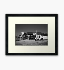 Route 66 Gas Station Framed Print