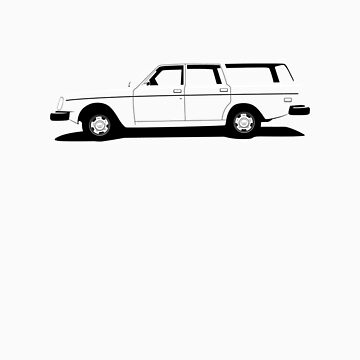 Volvo 200 Series Wagon by ghost650