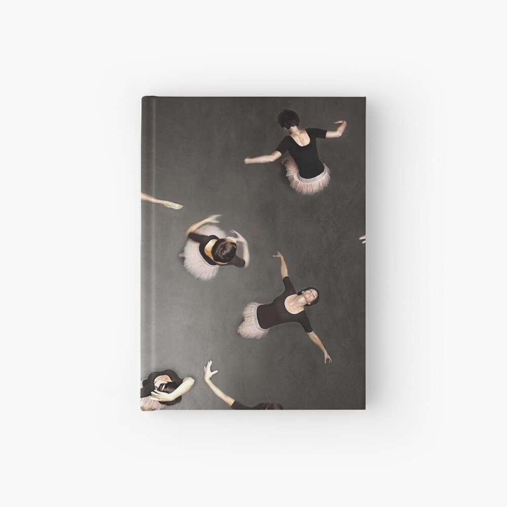 ballet from above Hardcover Journal