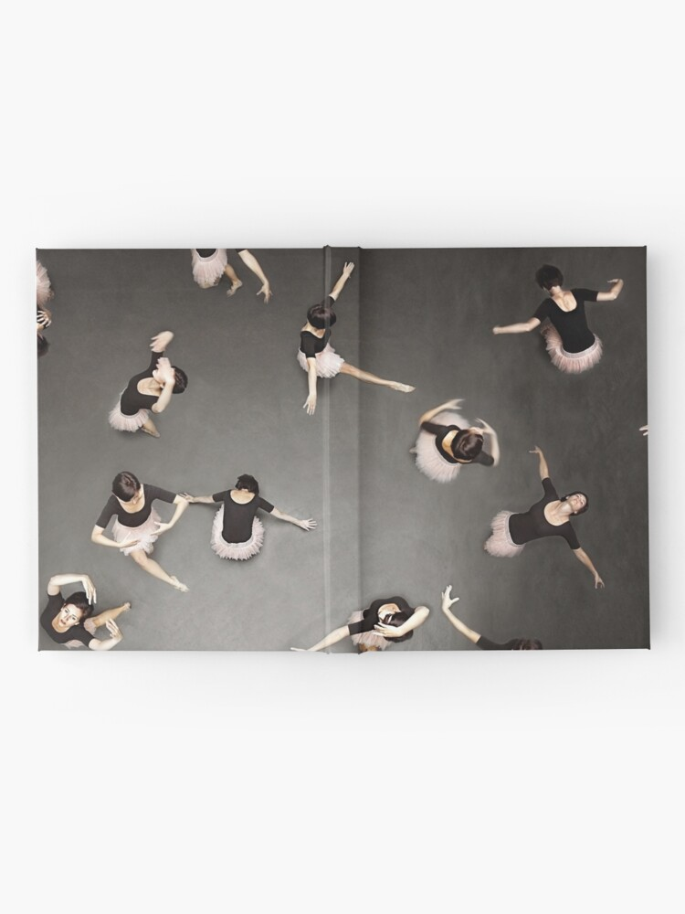 Alternate view of ballet from above Hardcover Journal