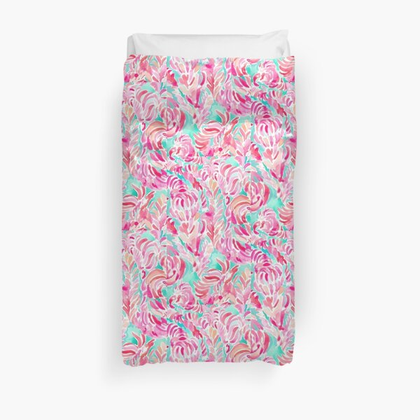 lilly pulitzer print Duvet Cover