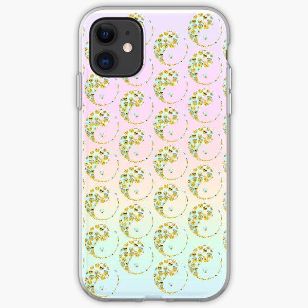 Emoji Yin and Yang iPhone Soft Case