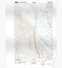 USGS Topo Map Washington State WA Cathlamet 20110901 TM Poster