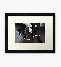 Air Jordan Oreo 5 Framed Print