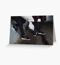 Air Jordan Oreo 5 Greeting Card