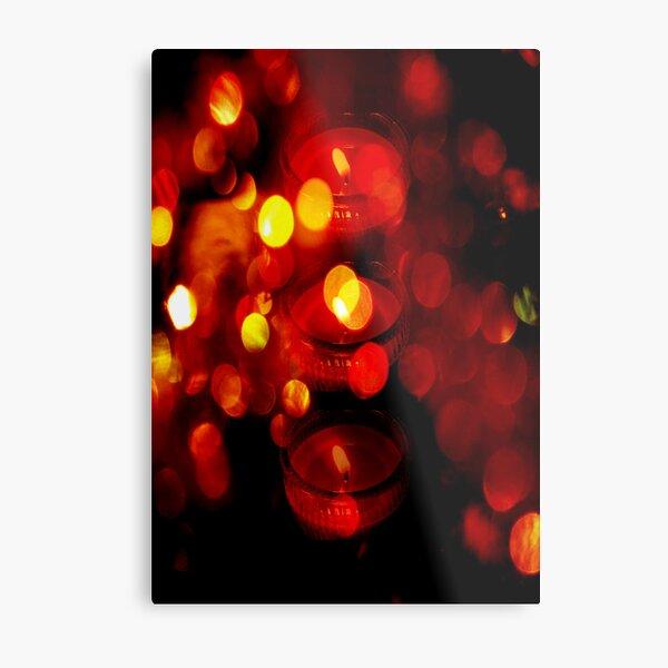 Red Light... © Metal Print