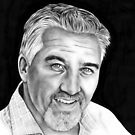 Paul Hollywood by Margaret Sanderson