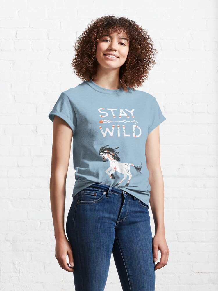 Alternate view of Stay Wild Classic T-Shirt
