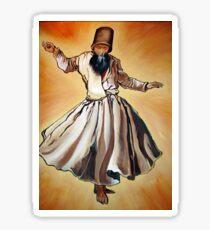 Semazen - Sufi Whirling Dervish Sticker