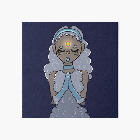 Goddess of The Sky Art Board Print