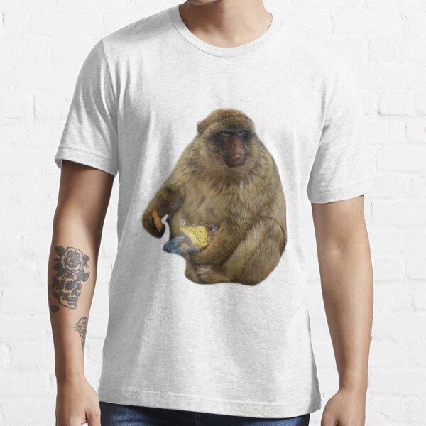 Gibraltar Macaque Monkey Essential T-Shirt