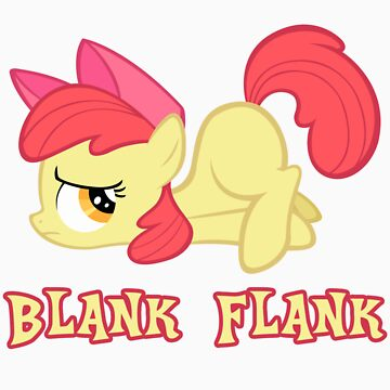 Applebloom Blank Flank by Coffey