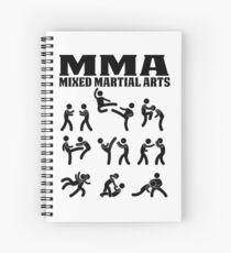 MMA Mixed Martial Arts Spiral Notebook