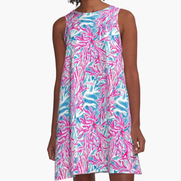 lilly pulitzer print  A-Line Dress
