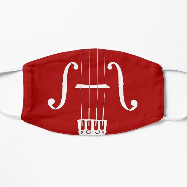 Violin Viola Cello Graphic Art Of F-Holes, Strings, Bridge, Fine Tuners, Tailpiece Mask