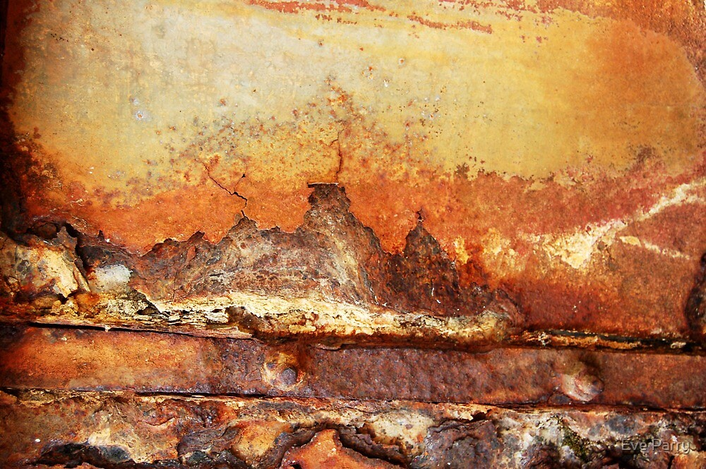 Rusty Water Tank # 3 by Eve Parry