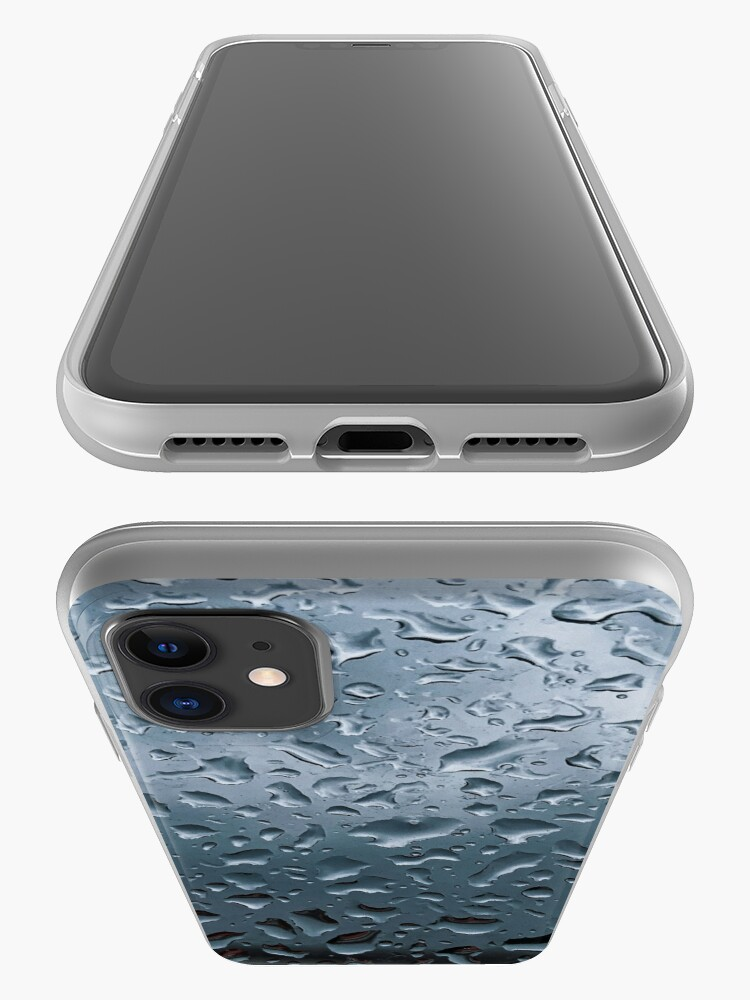 Alternate view of Raindrops phone case iPhone Case & Cover