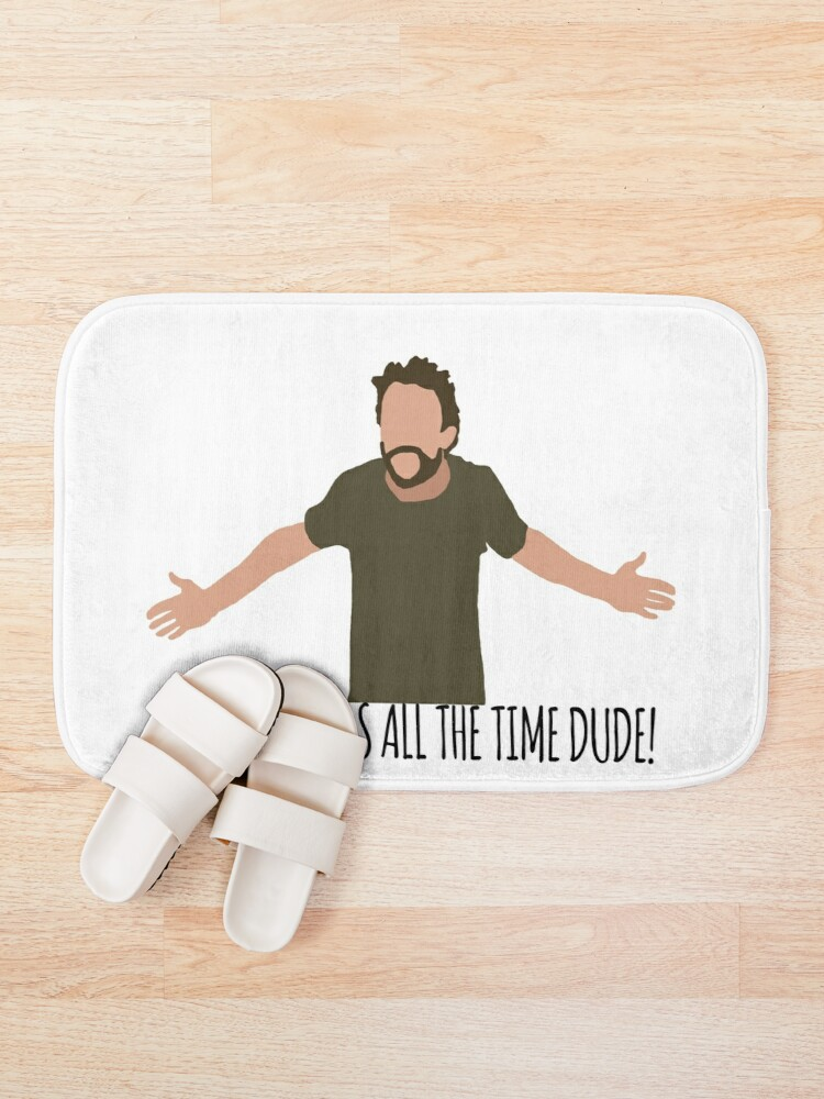 Alternate view of I Eat Stickers All The Time Dude Bath Mat