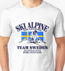 Swedish Alpine Ski Unisex T-Shirt