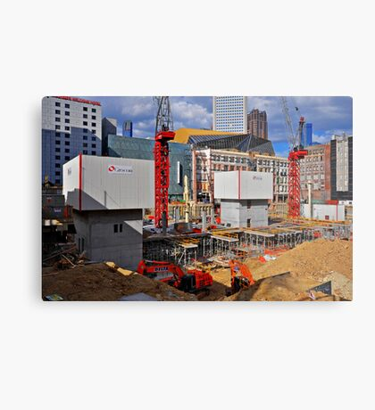 The Grocon Site Metal Print