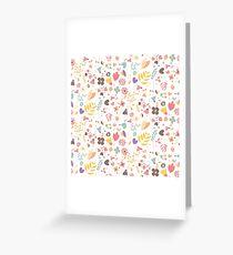Flower pattern 04 Greeting Card