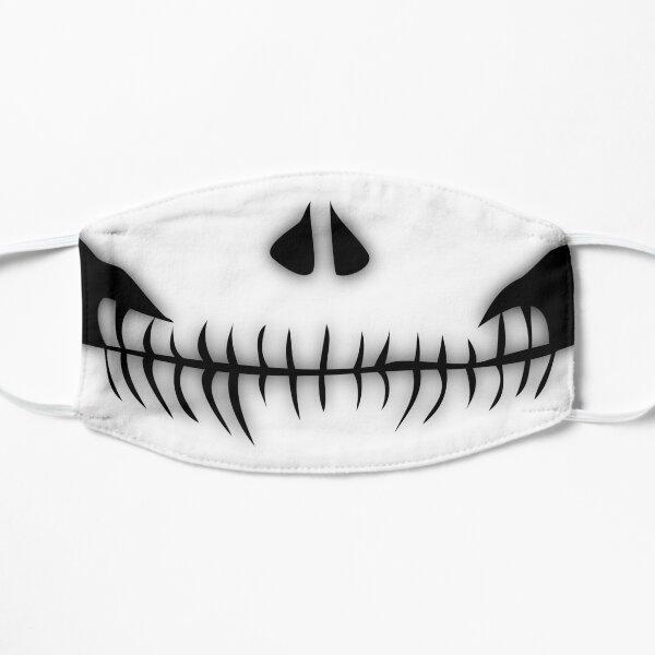 Skull Face Flat Mask