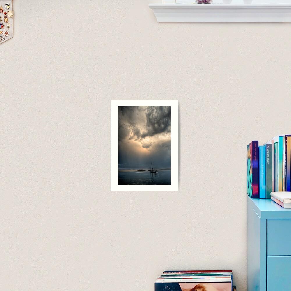 Light in Darkness Art Print
