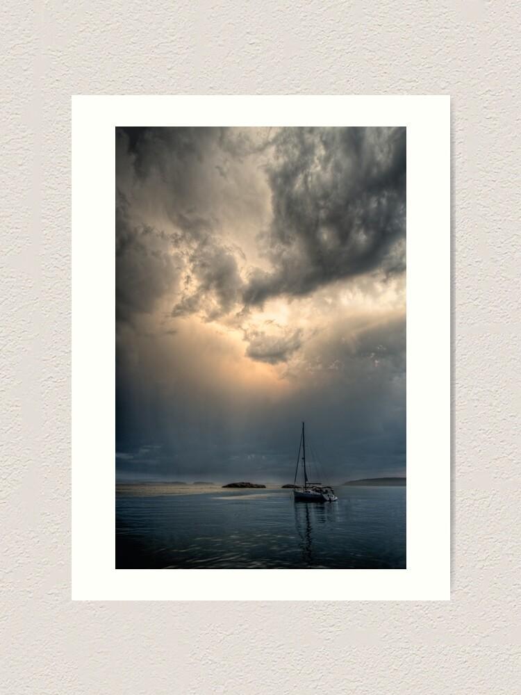 Alternate view of Light in Darkness Art Print