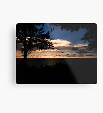 Face The Immensity Metal Print
