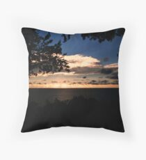Face The Immensity Throw Pillow