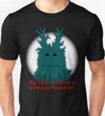 My Inner Demon Is A Swamp Monster. T-Shirt