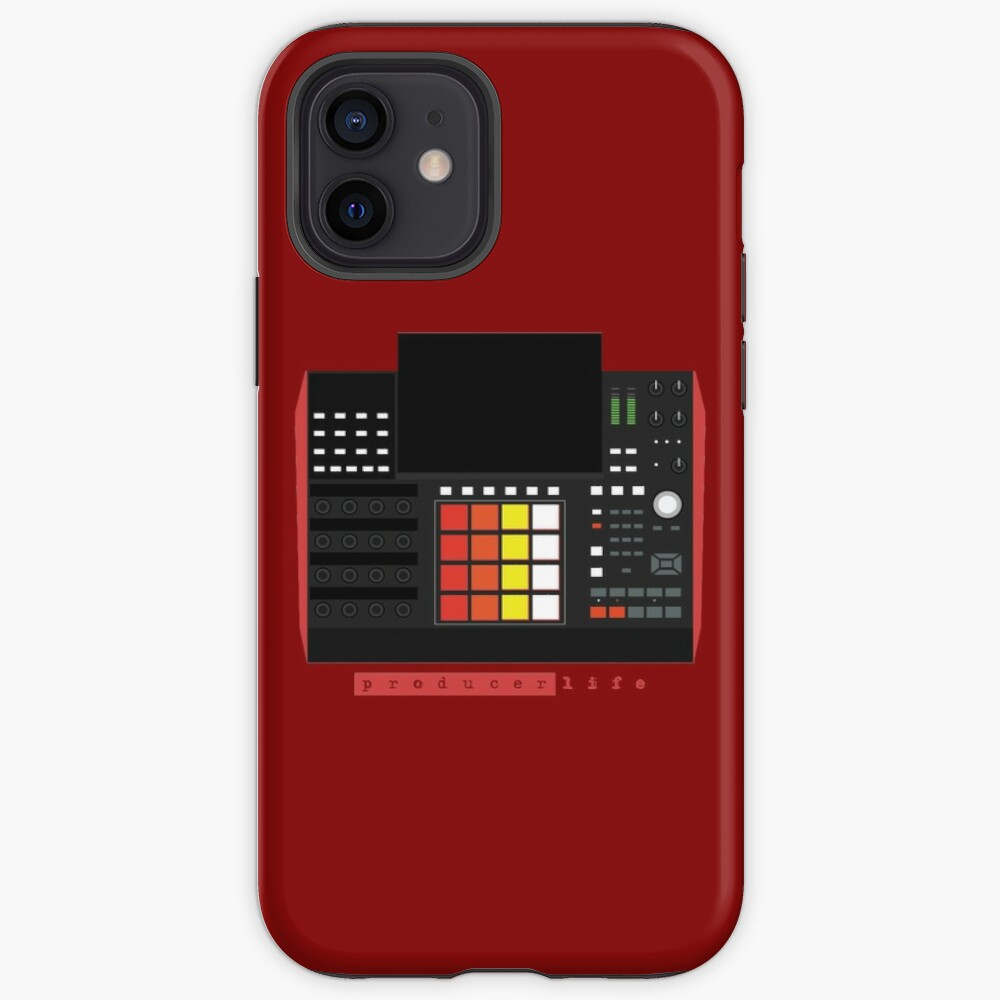 MPC X - Producer Life Gear - Dope Beat Machine Series #16 (w/Multicolored Pads) iPhone Case