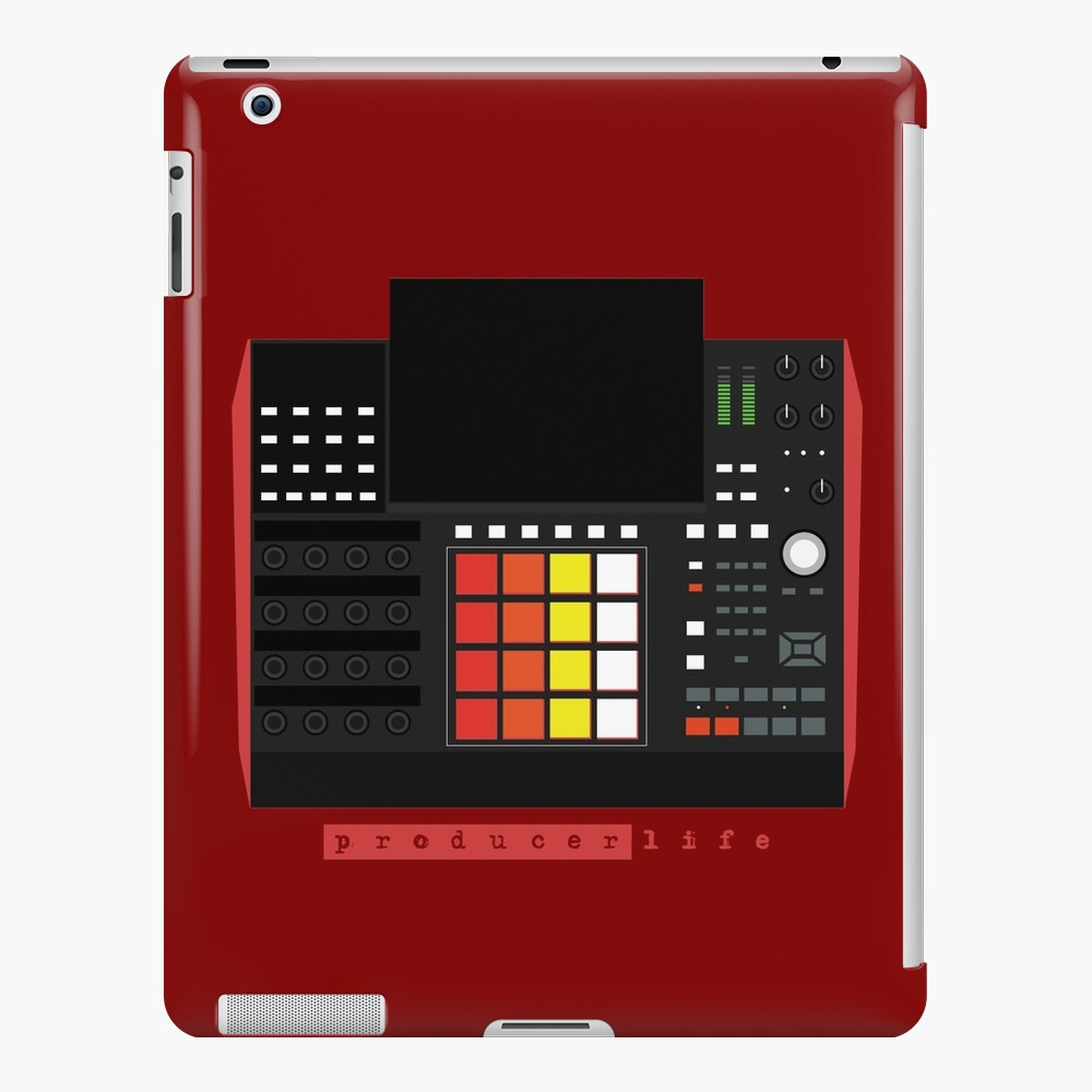 MPC X - Producer Life Gear - Dope Beat Machine Series #16 (w/Multicolored Pads) iPad Case & Skin
