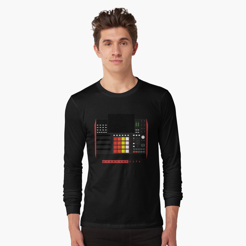 MPC X - Producer Life Gear - Dope Beat Machine Series #16 (w/Multicolored Pads) Long Sleeve T-Shirt