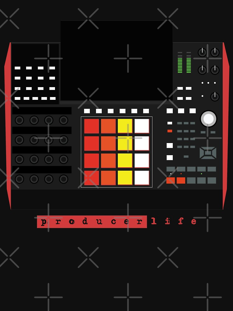 MPC X - Producer Life Gear - Dope Beat Machine Series #16 (w/Multicolored Pads) by Steve-Traxx