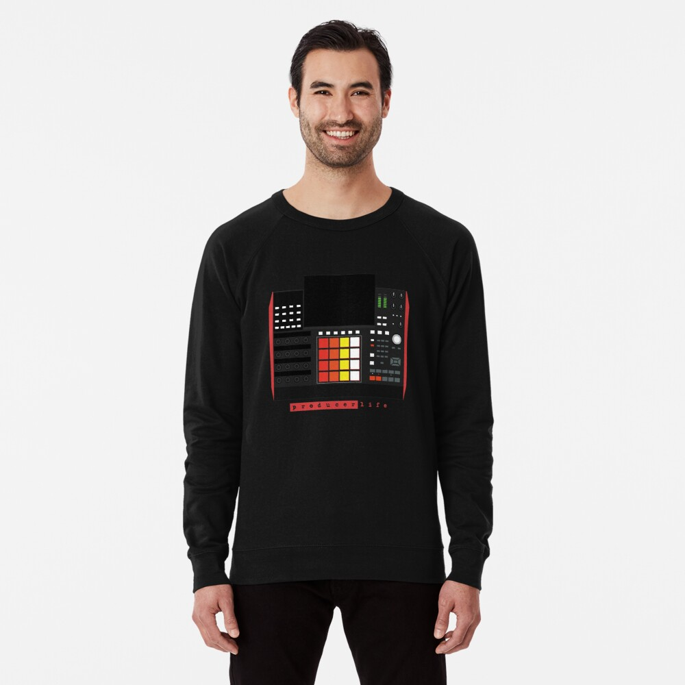 MPC X - Producer Life Gear - Dope Beat Machine Series #16 (w/Multicolored Pads) Lightweight Sweatshirt