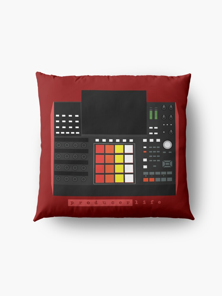 Alternate view of MPC X - Producer Life Gear - Dope Beat Machine Series #16 (w/Multicolored Pads) Floor Pillow