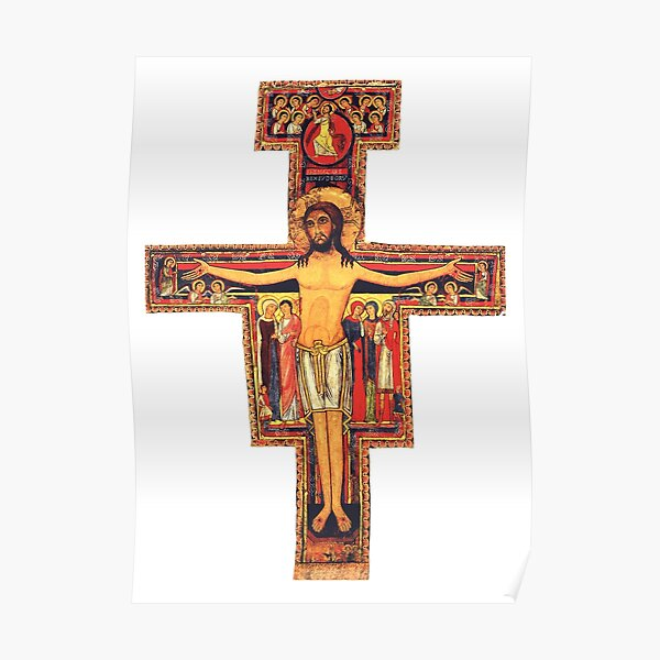 San Damiano Cross Poster